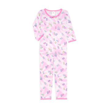 Маленькая девочка & amp; Пижамный комплект из 2 предметов Girl's Gummy Bear Esme