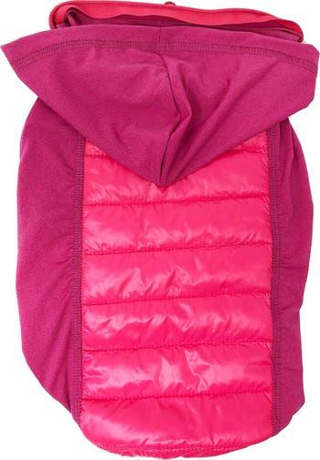 """Легкая гибридная быстросохнущая стретч-пальто для собак с выдвижным капюшоном """"Apex"""" - малый размер Pet Life"""