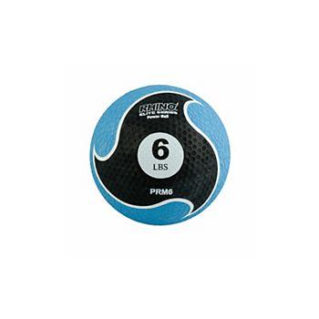Champion Sports PRM6 6 lbs Rhino Elite Medicine Ball, Blue Champion Sports