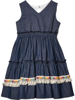 Трехуровневое платье (Маленькие дети / Большие дети) Fiveloaves twofish