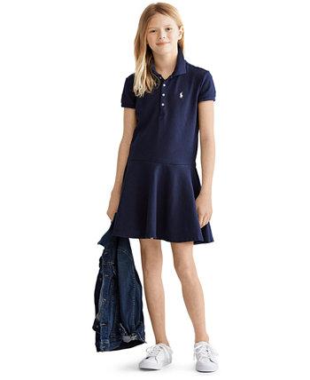 Платье поло для больших девочек Ralph Lauren