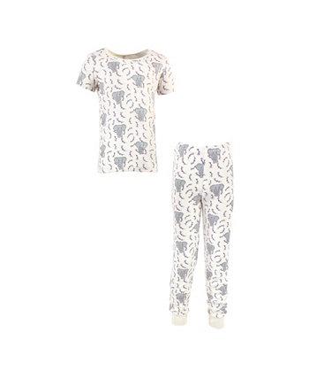 Плотно прилегающий пижамный комплект для девочек и мальчиков для малышей, набор из 2 Touched by Nature