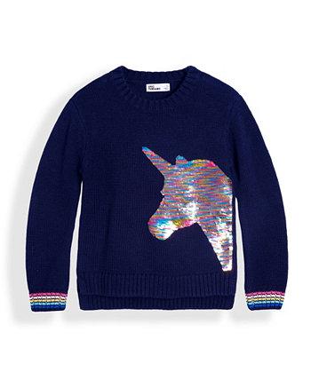 Toddler Girls Flip Sequin Graphic Sweater Epic Threads