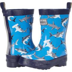 Блестящие резиновые сапоги Deep-Sea Sharks (для малышей / маленьких детей) Hatley Kids