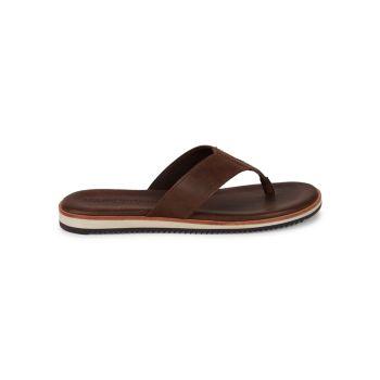 Leather Flip Flops Allen Edmonds
