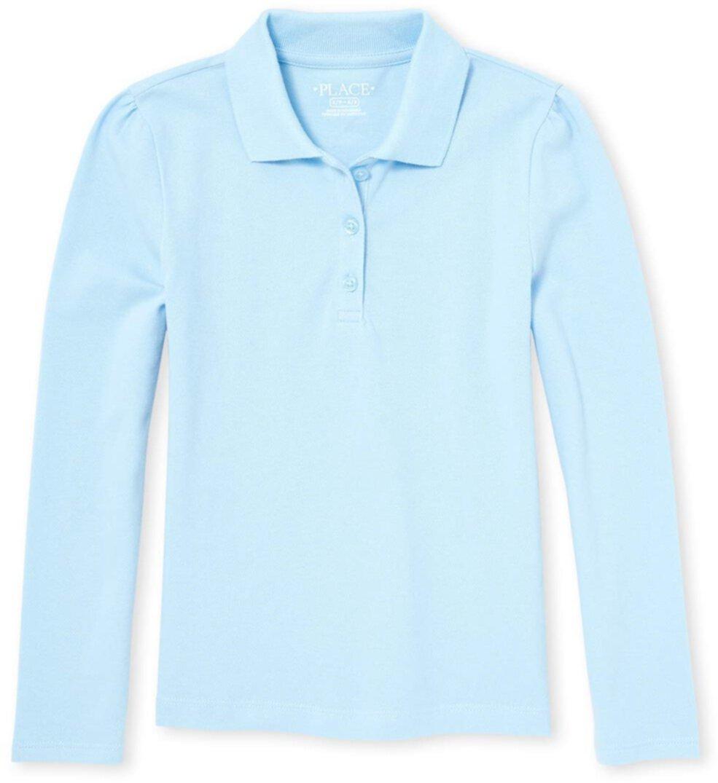 Униформа-поло из пике с длинными рукавами (для детей младшего и школьного возраста) The Children's Place