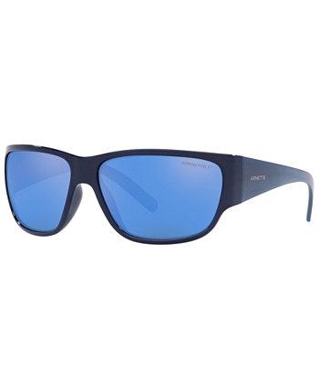Мужские поляризованные солнцезащитные очки, AN4280 63 Arnette
