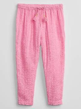Toddler Gauze Pull-On Pants Gap Factory