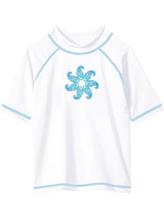 Рубашка для плавания с рашгардом Jade UPF 50+ с защитой от солнца (для маленьких и больших детей) Kanu Surf