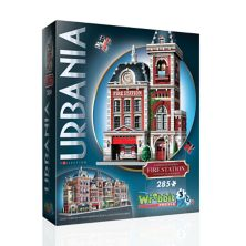 3D-пазл Wrebbit Urbania Fire Station 3D Wrebbit