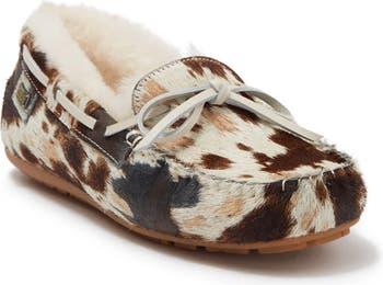 Тапочки из натуральной телячьей шерсти Prost Australia Luxe Collective