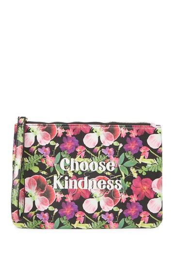 Клатч на запястье с цветочным рисунком Choose Kindness Betsey Johnson