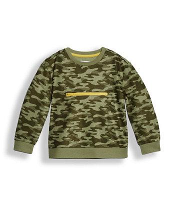 Toddler Boys Camo Fleece Pullover Sweatshirt Epic Threads