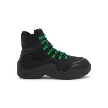 Ботинки Puddle на шнуровке Bottega Veneta