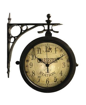 Круглые настенные часы Infinity Instruments