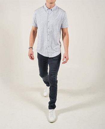 Рубашка с короткими рукавами и Mindful рубашкой спереди Swet Tailor
