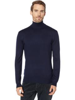 Пуловер с высоким воротом и меланжей содержит Ecovero ™. Scotch & Soda
