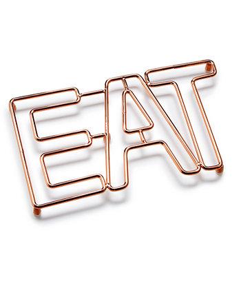 Copper Eat Trivet, созданный для Macy's Martha Stewart Collection