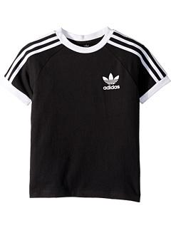 Футболка с 3 полосами (Маленькие дети / Большие дети) Adidas Originals Kids