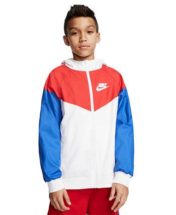 Спортивная одежда Big Boys Wind Runner Jacket Nike