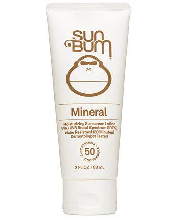 Минеральный увлажняющий солнцезащитный лосьон SPF 50 Sun Bum