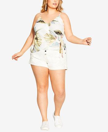 Plus Size Barbados Top City Chic