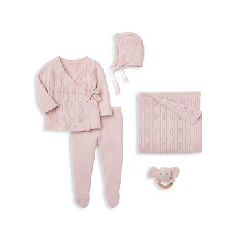 Набор из пяти подарочных коробок для маленьких девочек Elegant Baby