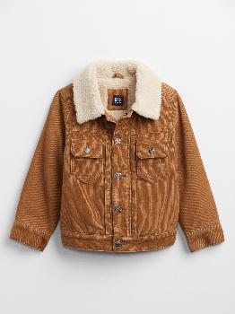 Куртка на подкладке из шерпы для малышей Gap Factory