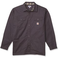 Пиджак-рубашка свободного кроя из рипстопа с фланелевой подкладкой и кнопками Carhartt