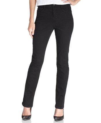 Узкие джинсы Petite-Control с узкими ногами, короткие и миниатюрные, для Macy's Style & Co