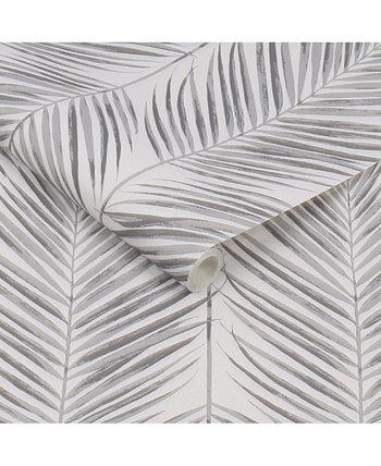 """Обои с кожурой и приклеиванием пальмовых листьев, 216 """"x 20,5"""" Transform"""