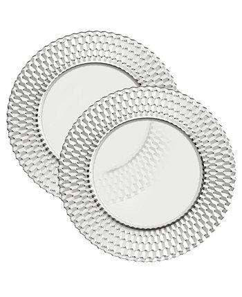 Набор тарелок для буфета Boston Crystal / 2 Villeroy & Boch