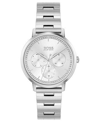 Женские часы Prima с браслетом из нержавеющей стали, 35 мм HUGO BOSS