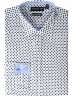 Эластичная классическая рубашка с цветочным принтом Daisy Nick Graham