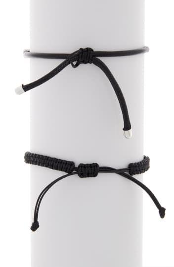 Плетеный стержень и плетеный серебряный браслет Abound