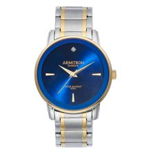 Двухцветные мужские наручные часы Armitron с бриллиантовым акцентом - 20-5263NVTT Armitron