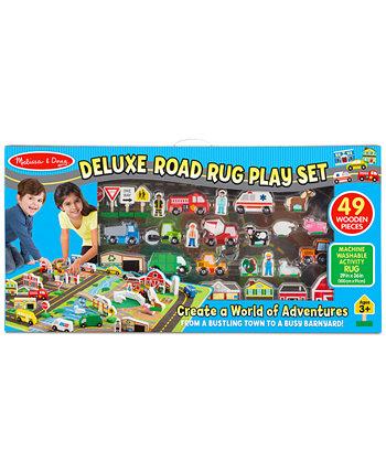 Коврик для игр Melissa & Doug Deluxe Road Rug Melissa and Doug