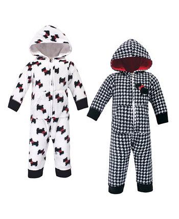 Флисовые комбинезоны, комбинезоны и игровые костюмы для мальчиков и девочек Hudson Baby