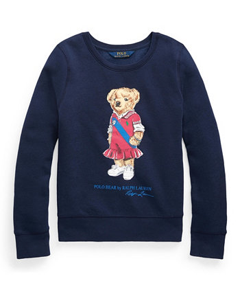 Толстовка из флиса с медведем Polo Big Girls Ralph Lauren