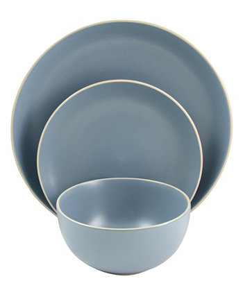 Набор столовой посуды из 12 предметов Gibson