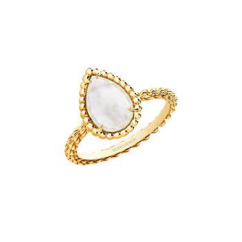 Serpent Bohème, желтое золото 18 карат & amp; Кольцо с белым перламутром Boucheron