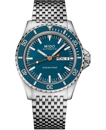Мужские швейцарские часы с автоподзаводом Ocean Star Tribute 75th Anniversary, браслет из нержавеющей стали, 41 мм MIDO