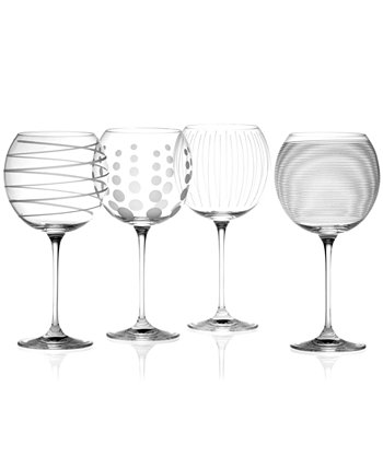 "Бокалы с воздушными шарами ""Clear Cheers"", набор из 4 шт. MIKASA"