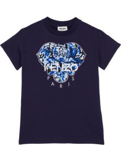 Short Sleeves Dress with Elephant (Toddler) Kenzo Kids
