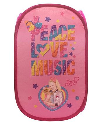 Jojo Peace Love Music Pop Up Корзина JOJO SIWA