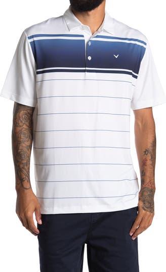 Рубашка-поло в полоску с эффектом омбре CALLAWAY GOLF