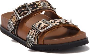 Ulysse Double Strap Sandal ASH