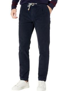 Хлопковые брюки из молескиновой кожи Eleventy