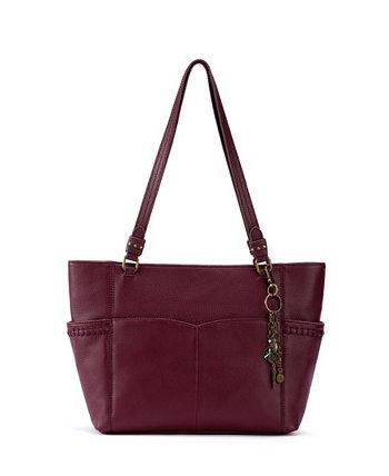 Женская кожаная сумка с короткими ручками из секвойи The Sak