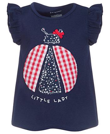 Хлопковая туника для маленьких девочек Little Lady, созданная для Macy's First Impressions